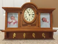 Solid wood multi purpose wall hanging