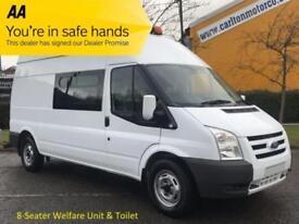 2009/59 Ford Transit 115 T350 8s [ Crew,Welfare,Mess,Toilet unit ] High roof van