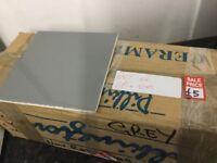 Box of 60+ Grey ceramic Tiles