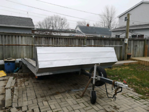 SNOWMOBILE NORTHERN TRAILER