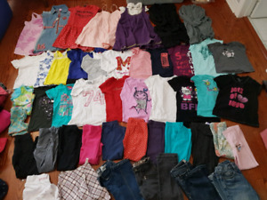 7-8 girl  spring /summer cloths lot
