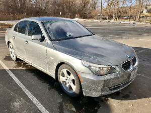 2008 BMW 5-Series Wood Sedan