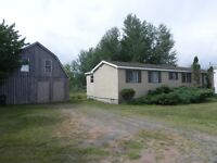2.4 ACRES SOUTH FACING WITH 2 STOREY BARN IN WILMOT