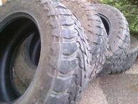 "35"" Tires for 20"" Rim. 315/60R20 set of 4"