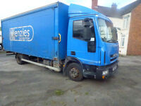 Iveco Eurocargo curtain sider 2011 7.5ton