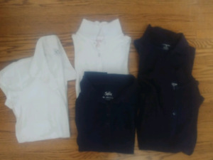Size 14 uniform shirts