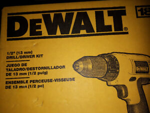 """Brand New 18V Dewalt 1/2"""" Drill (Never use before).  Tool ONLY"""