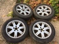 "Volvo 16"" wheels and tyres ."