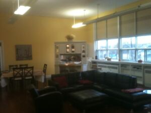 3000 square foot Loft Apartment 12 foot ceilings