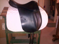 County Drespri Saddle Adjustable Flaps for Jumping and Dressage