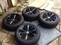 """BMW GENUINE ALLOYS + tyres 17"""""""