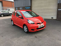 2010 TOYOTA AYGO 1.0 VVT-i PLUS 3 DOOR,55,000 MILES WARRANTED,£20 ROAD TAX