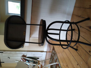 Rustic Country dining stool barely used!