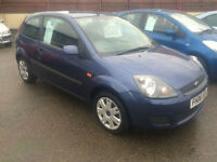 2006/06 Ford Fiesta 1.25 Style Climate 3dr ONLY 74290 MILES FSH NOW £2295