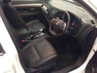2015 Mitsubishi Outlander 2.0 GX4h CVT 4x4 5dr (5 seats) PETROL/ELECTRIC white S