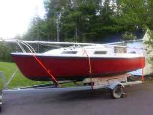 Sailboat for sale.
