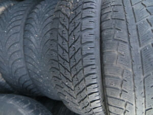 4  - P225/65R17 WINTER TIRES SET 4 FOR $160.00