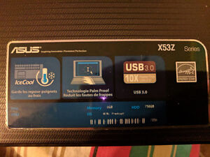 ASUS - X53Z - In Great Condition! REDUCED PRICE