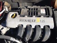 Renault Clio MK2 1.2 16V Engine