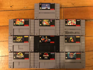 Selling Bundle of NES/SNES/N64 Games and Accessories