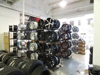 "TIRE NEW FROM 14""$49---15""$59---16""$64---17""$64---18""$74--20""$99"