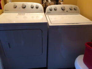 Whirlpool washer and dryer set 3 years old $1000 obo