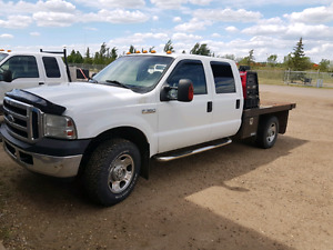 ***REDUCED*** LOW KM 2007 F350 XLT CREW CAB  LEATHER