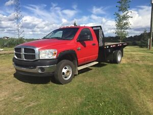 2007 Dodge Dsl 4x4 Dually Deck Truck Strathcona County Edmonton Area image 6