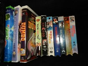 VHS classic movies