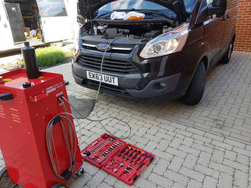DIESEL or PETROL ENGINE CARBON CLEANING AND DPF UNBLOCKING