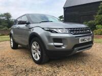2012 Land Rover Range Rover Evoque 2.2 eD4 Pure 5dr [Tech Pack] 2WD 5 door Es...