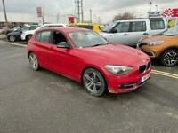 2012 12 BMW 116I SPORT 1.6 TURBO 5 DOOR IN BRIGHT RED.1 OWNER FROM NEW.S-HISTORY