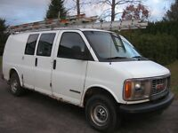 GMC SAVANA FOURGONNETTE.