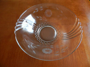 Vintage Hughes Corn Flower Bowl and Hostess Plate Kitchener / Waterloo Kitchener Area image 3