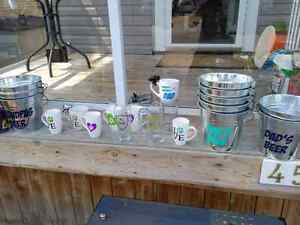 Custom mugs, glasses, and pails. Custom gifts London Ontario image 4