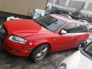 Audi a4 station wagon 2007 (for PARTS only )