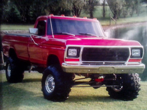 Wanted  Ford 1973to1979 4x4 F150