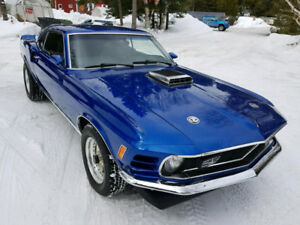 Mustang Fastback 1970 Restomod Shelby