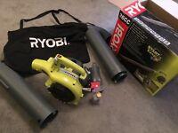 Leaf blower/hoover. Ryobi