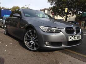 2007 BMW 3 SERIES 325I SE Grey Auto Petrol sat nav red leather