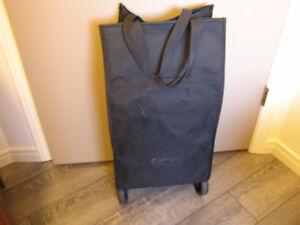Large Weekend Travel Bag, Shopping Cart\ easy-roll wheels London Ontario image 2