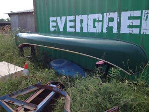 Peterborough canvas canoe