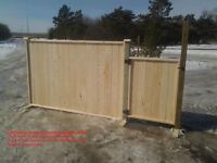 WELL BUILT FENCE PANELS