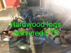 Hardwood logs Dumpy Bags