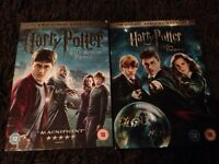 New and sealed Harry Potter dvd