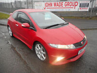 HONDA CIVIC TYPE R GT 3 DOOR MANUAL PETROL