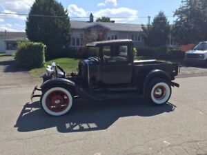 1930 FORD MODEL A PICK-UP (TRES RARE)