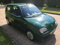 Fiat Seicento 1.1 SX VERY VERY LOW MILAGE + FULL SERVICE HISTORY + 1 YEAR MOT