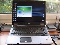 LAPTOP - HP 6730B, INTEL CORE 2, 2 2.4GHz 2GB 250GB WINDOWS 7 CD-DVDRW WIFI CHARGER INCLUDED