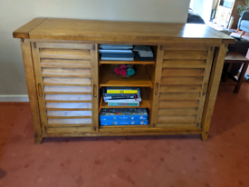 Dining Room console/unit solid oak